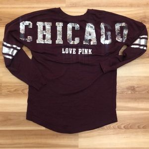 Victoria's Secret pink Chicago small sweater